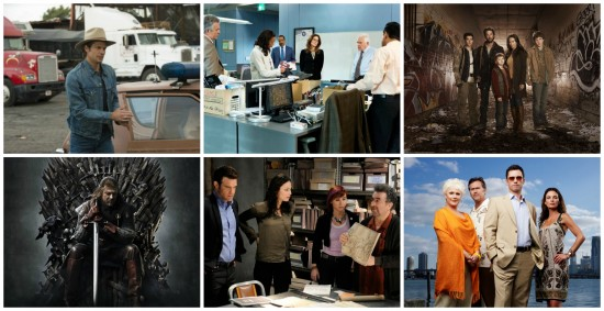 Justified, Major Crimes, Falling Skies, Game of Thrones, Warehouse 13, Burn Notice