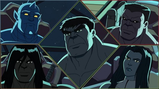 Marvel's Hulk and the Agents of S.M.A.S.H. (1)