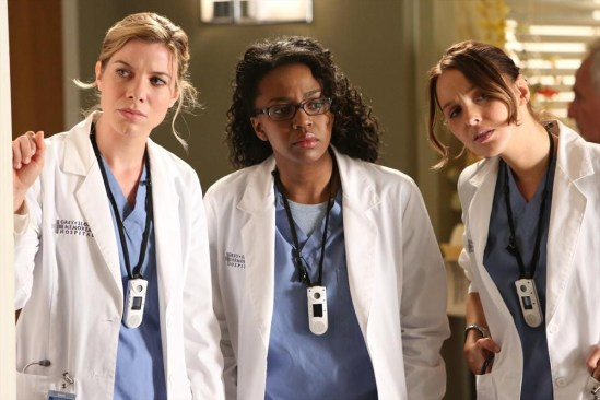 Grey's Anatomy Season 10 Episode 1 & 2 Seal Our Fate;I Want You With Me (5)