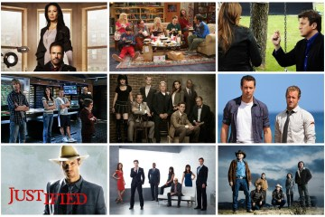 Elementary, The Big Bang Theory, Castle, NCIS: Los Angeles, NCIS, Hawaii Five-0, Justified, White Collar, Longmire