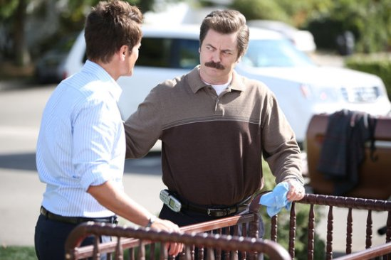 Parks and Recreation season 6 episode 8 & 9 Fluoride/The Cones of Dunshire (33)