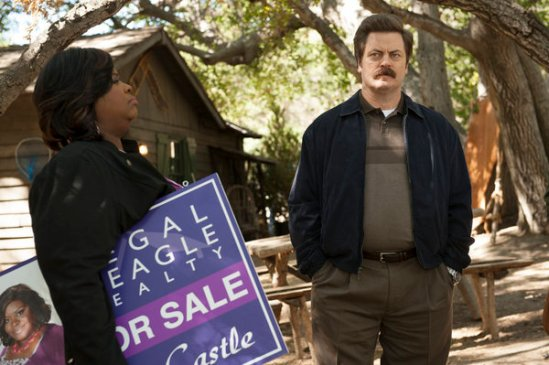 Parks and Recreation season 6 episode 8 & 9 Fluoride/The Cones of Dunshire (27)