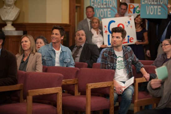 Parks and Recreation season 6 episode 6 & 7 Filibuster/Recall Vote (25)