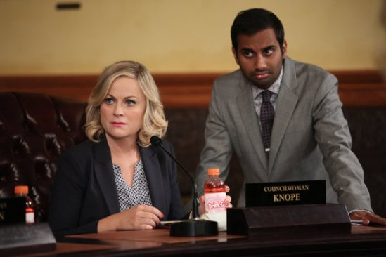 Parks and Recreation season 6 episode 8 & 9 Fluoride/The Cones of Dunshire (36)