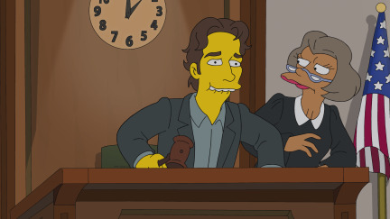 The Simpsons Season 25 Episode 9 Steal This Episode (2)