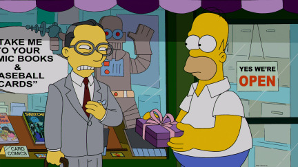 The Simpsons Season 25 Episode 10 Married to the Blob (2)