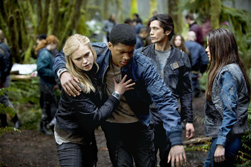 Clarke, Wells, Bellamy, Octavia - The 100