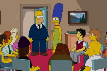 The Simpsons Season 25 Episode 12 & 13 Diggs/The Man Who Grew Too Much (4)