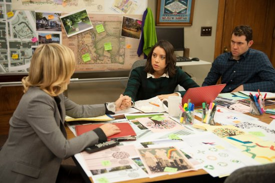 Parks and Recreation season 6 episode 15 The Wall (2)