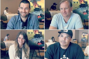 banshee cast comic-con 2014