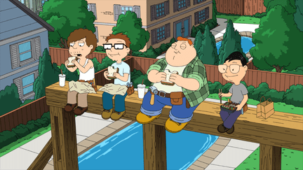 American Dad Season 10 Episode 1 & 2 Roger Passes the Bar/From Russia with Love (1)