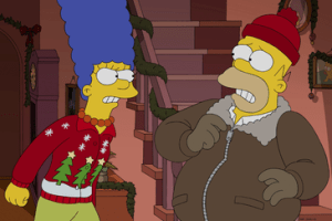 The Simpsons Season 26 Episode 9 I Won't Be Home For Christmas (3)