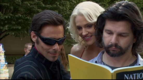 Baltar and Six - Battlestar Galactica