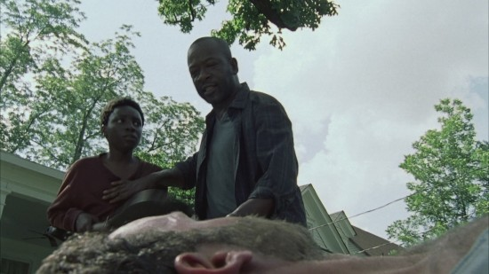 Morgan, Duane, Rick - The Walking Dead