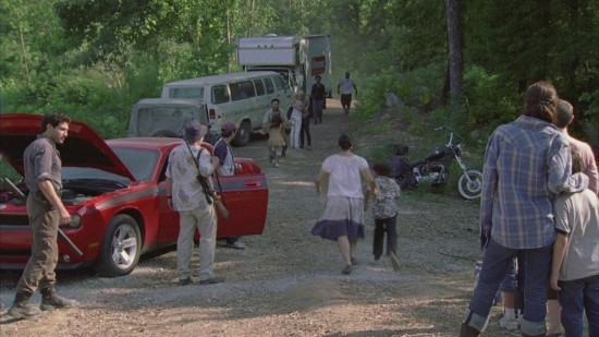 Shane, Dale, Lori, Carl - The Walking Dead
