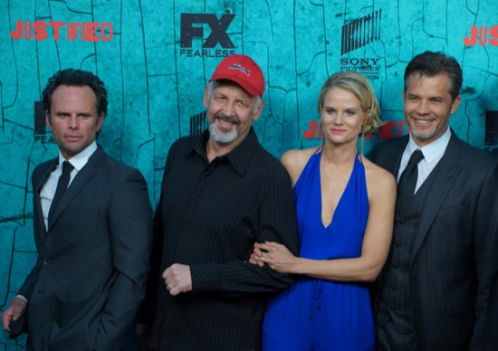 Justified Finale Red Carpet