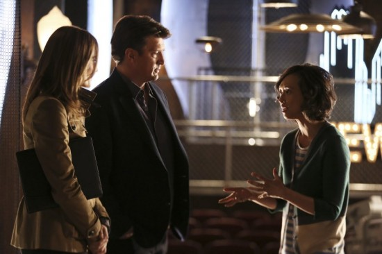 "Castle ""Dead From New York "" Season 7 Episode 22 (5)"