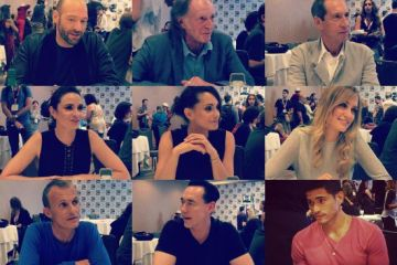 the strain cast comic-con 2015