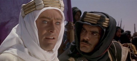 Lawrence and Sherif - Lawrence of Arabia