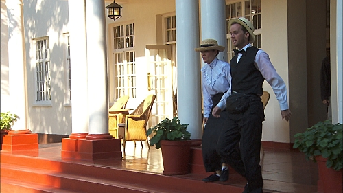 """The Amazing Race """"Good Old Fashioned Spit In The Face"""" Season 27 Episode 4 (6)"""
