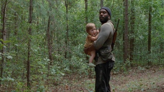 Tyrese and Judith - The Walking Dead