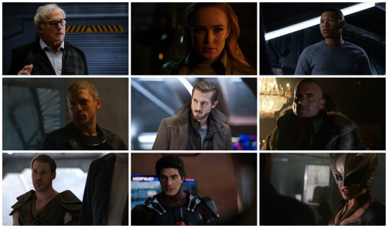Ray, Mick, Leonard, Stein, Sara, Kendra, Carter, Rip, Jackson - DC's Legends of Tomorrow