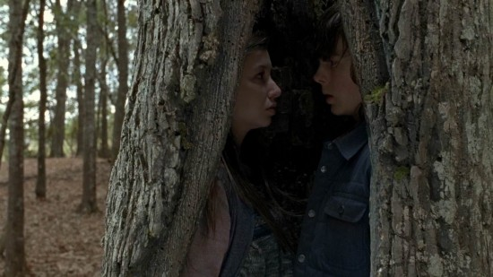 Carl and Enid - The Walking Dead