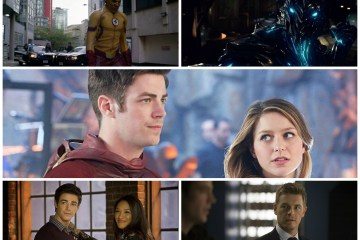 Kara, Barry, Iris, Eddie, Wally, Savitar - The Flash