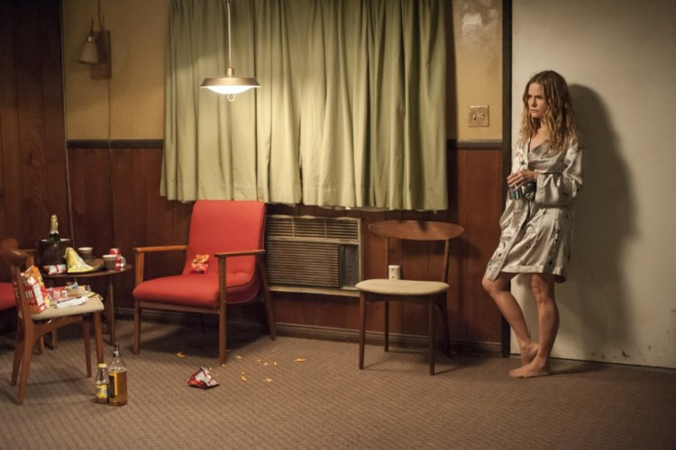 Jennifer Jason Leigh in a still from Twin Peaks. Photo: Suzanne Tenner/SHOWTIME