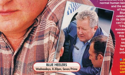 "TV Week: ""Tom's well-earned break"" Blue Heelers August 22nd 1998"