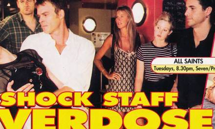 "TV Week: ""Shock Staff Overdose"" All Saints 14th March 1998"