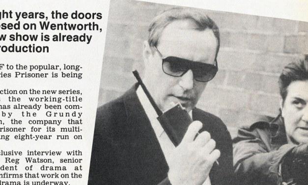 """TV Week: """"Prisoner spin-off up for grabs!"""" Prisoner 15th November 1986"""