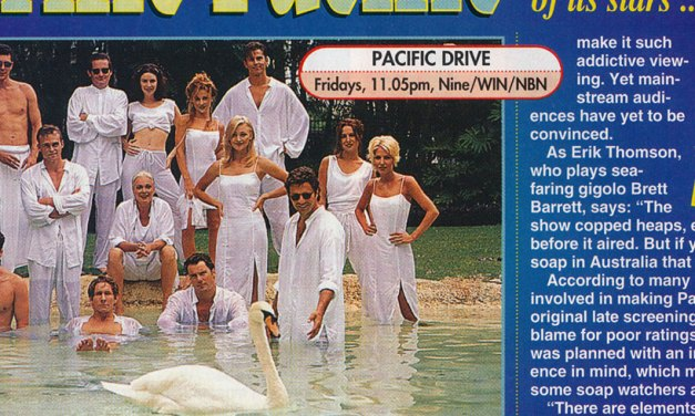 """TV Week: """"Terrific Pacific"""" Pacific Drive March 14th 1998"""