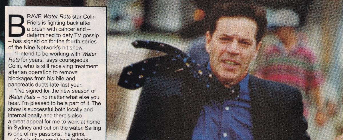 """Colin Battles Cancer"" Water Rats 11th May 1998"