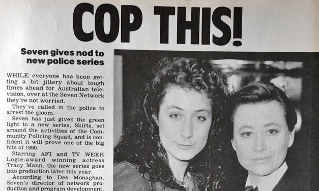 "TV Week: ""Cop This!"" Skirts 14th October 1989"