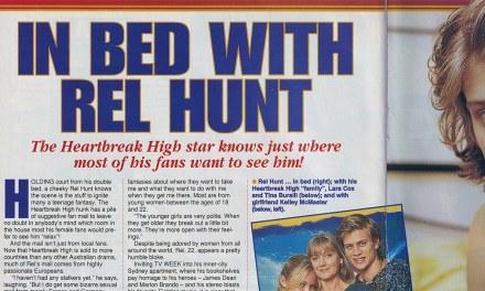 "TV Week: ""In Bed With Rel Hunt"" Heartbreak High 19th July 1997"