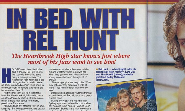 "TV Week: ""In Bed With Rel Hunt"" Heartbreak High 19th July 1997"