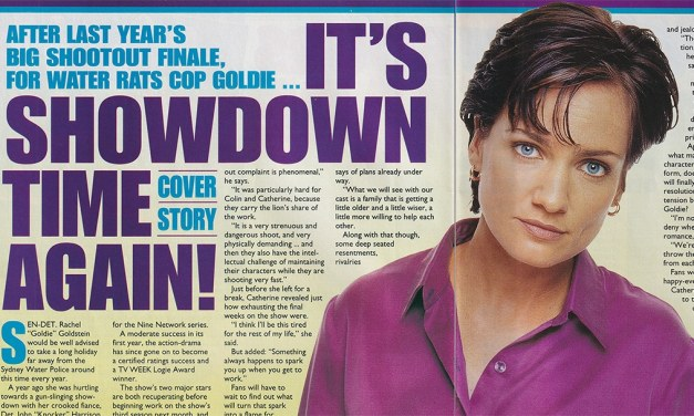 """TV Week: """"It's Showdown Time Again!"""" Water Rats 19th July 1997"""