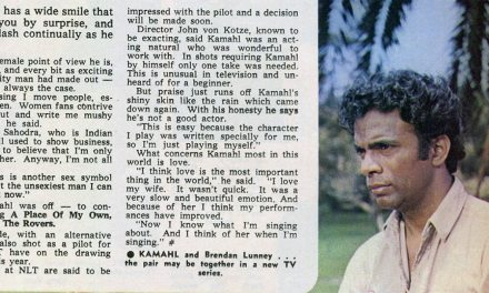 "TV Week: ""Kamahl – The Modest Sex Symbol"" The Rovers 24th January 1970"