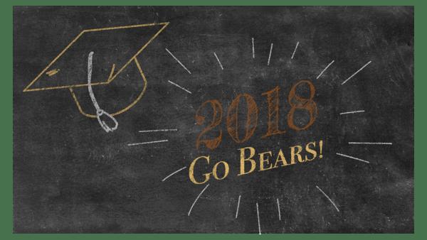 Graduation Board - Go Bears