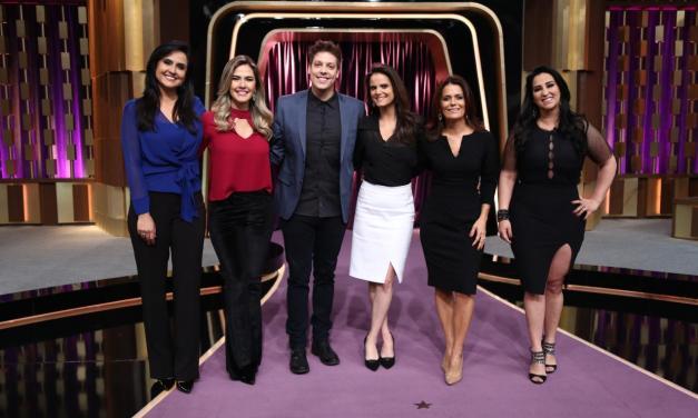 Com jornalistas da Record, Porchat vence Patrícia Abravanel e Gentili