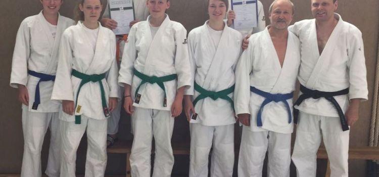 Judo: Kreisprüfung 6x erfolgreich