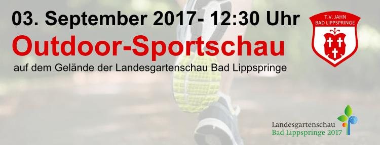 Sportschau am 03. September ab 12:30 Uhr auf der Landesgartenschau