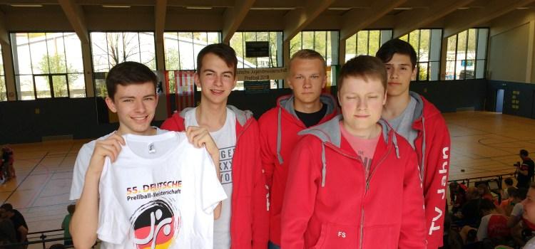 55. Deutsche Meisterschaft Prellball Jugend
