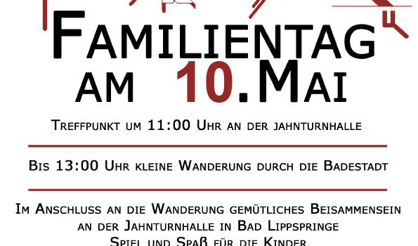 TV Jahn Familientag am 10. Mai