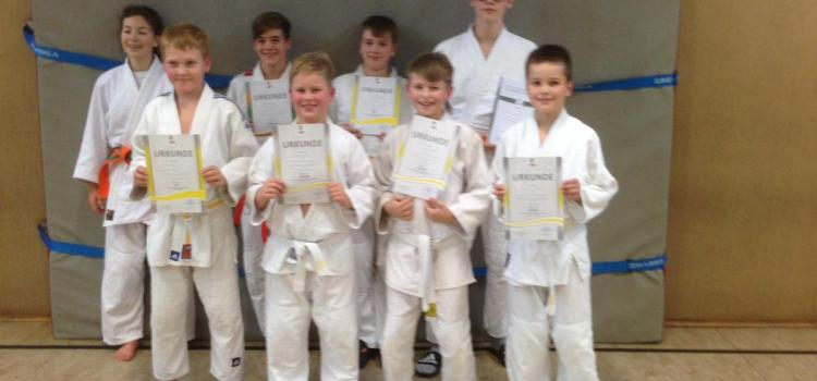 Judo: Gürtelprüfung im November