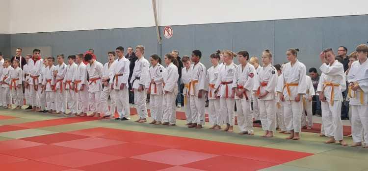 Judo: Erfolgreiche Kreiseinzelmeisterschaft U15 und Kreisturnier U13 vor heimischem Publikum