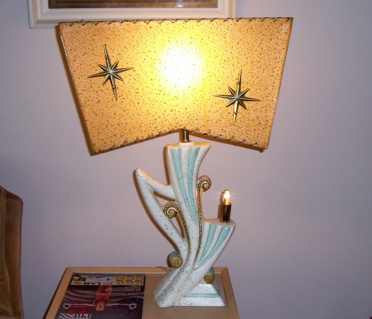 Mid Century Table Lamps At Tvlamps Net