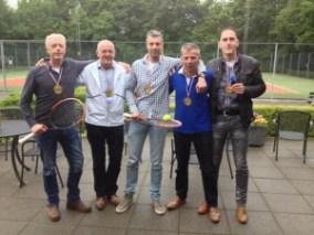 foto Heren 1  35+ Tennis
