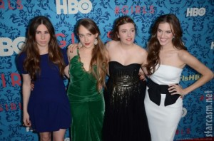 Lena Dunham, Jemima Kirke, Allison Williams y Zosia Mamet, protagonistas de Girls